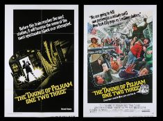 THE TAKING OF PELHAM ONE TWO THREE (1974) - Two US One-Sheets, 1974