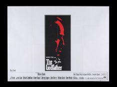 GODFATHER (1972) - UK Quad, 1972