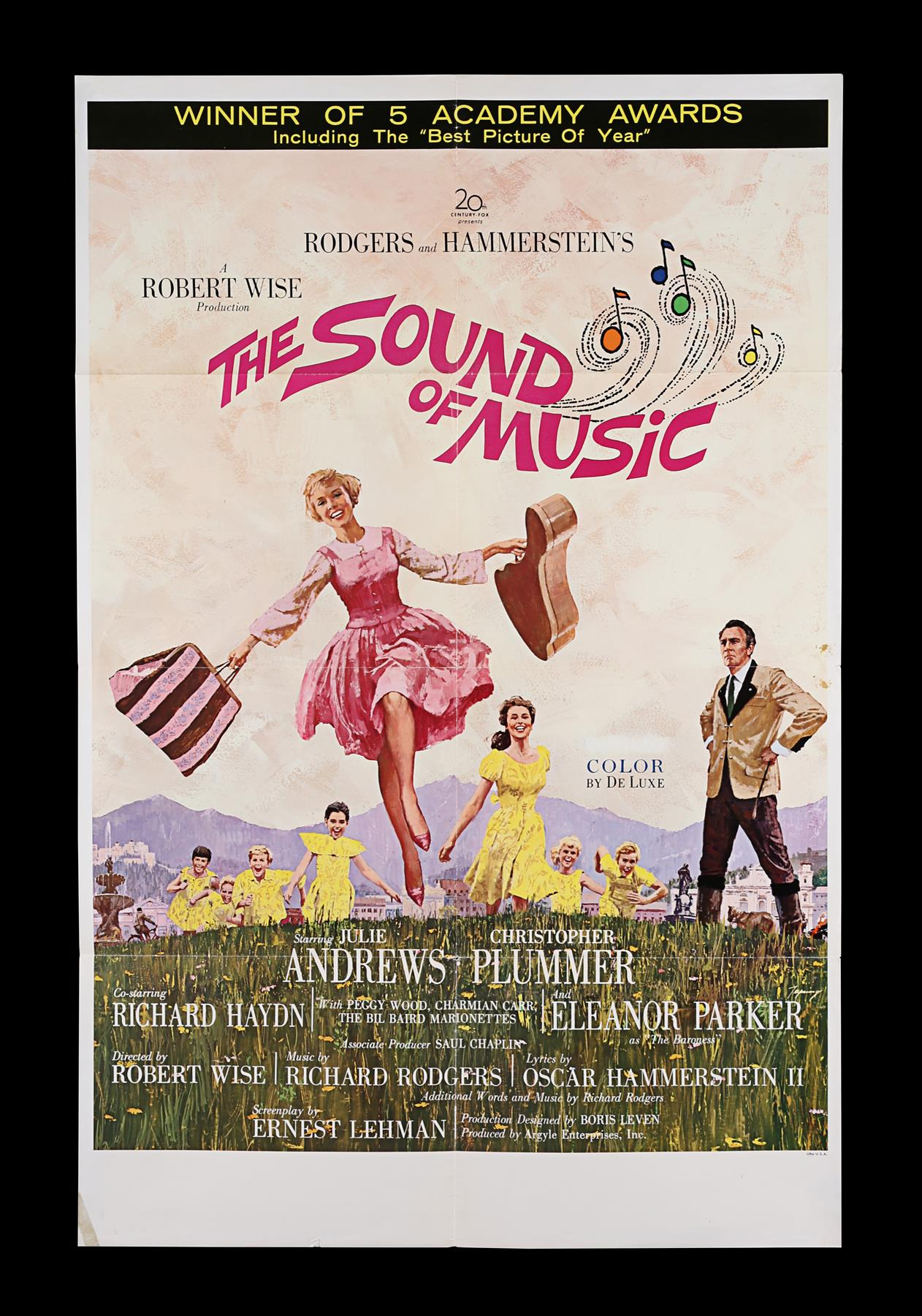 THE SOUND OF MUSIC (1965) - US One-Sheet, 1965