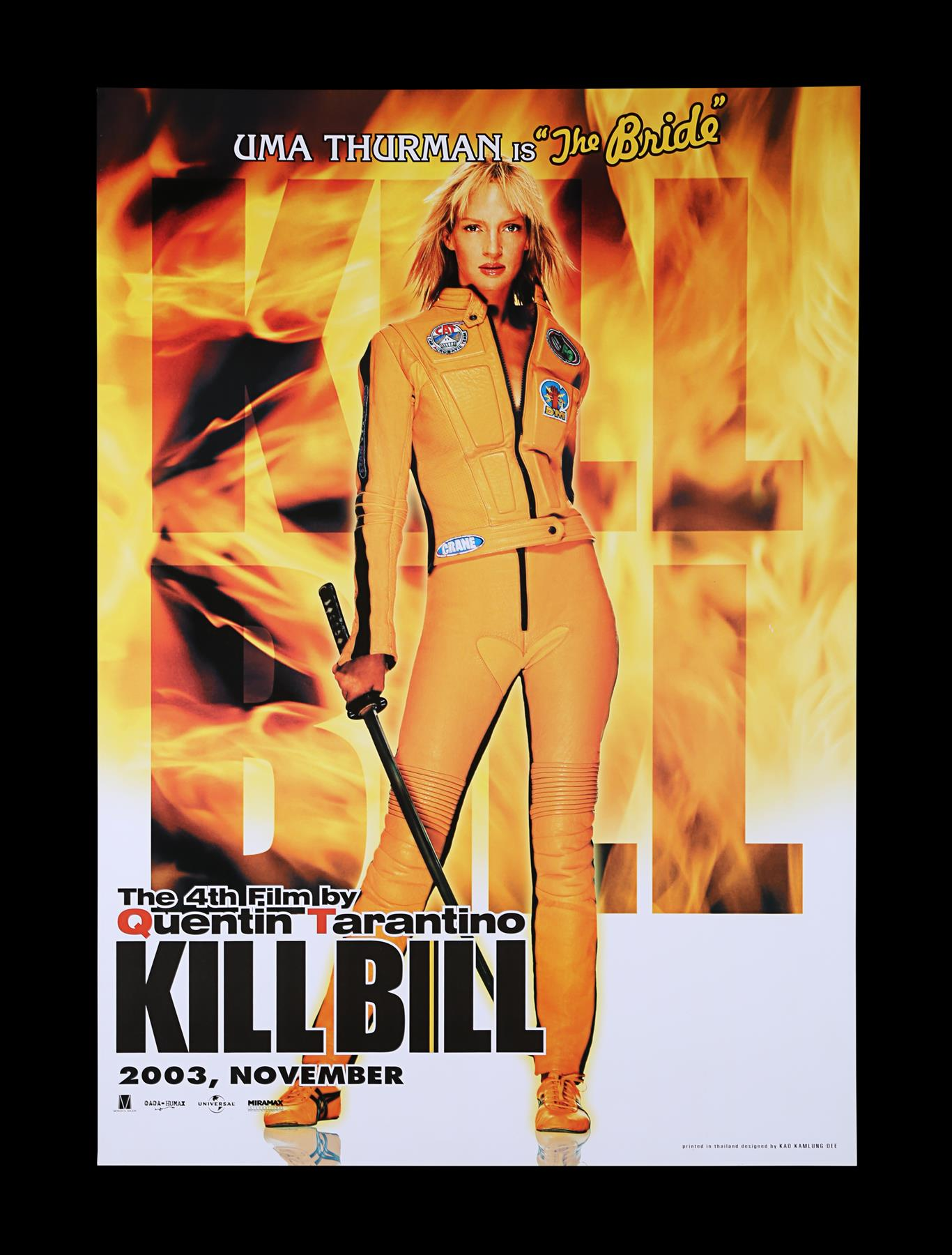 KILL BILL (2003) - US One-Sheet and Thai One-Sheet, 2003 - Image 3 of 10