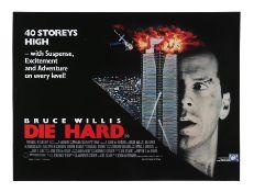 DIE HARD (1988) - UK Quad, 1988
