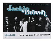 JACKIE BROWN (1997) - UK Quad, 1997