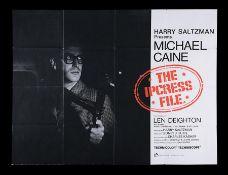 IPCRESS FILE (1965) - UK Quad, 1965