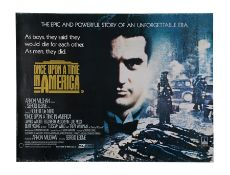 ONCE UPON A TIME IN AMERICA (1984) - UK Quad, 1984