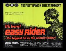 EASY RIDER (1969) - UK Quad, 1969