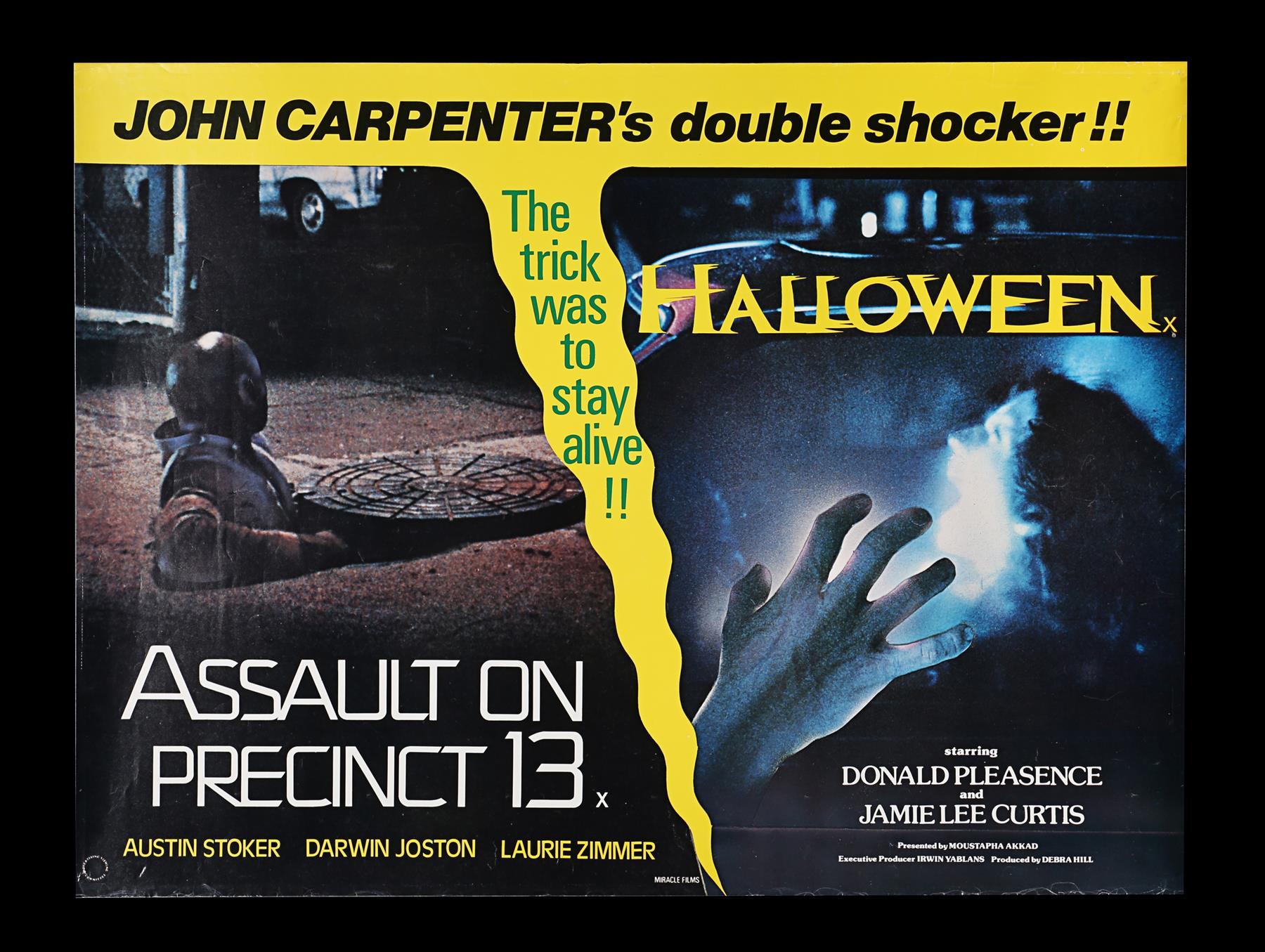 ASSAULT ON PRECINCT 13 (1976), HALLOWEEN (1979) - Two UK Quads, 1979 - Image 4 of 5