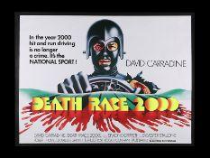 DEATH RACE 2000 (1975) - UK Quad, 1975