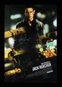 JACK REACHER (2012) - US One-Sheet, 2012, Autographed by Tom Cruise, Rosamund Pike and Others