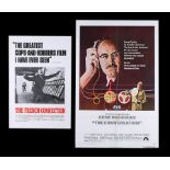 FRENCH CONNECTION (1971), CONVERSATION (1974) - UK Double Crown and US One-Sheet, 1971, 1974