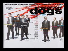 RESERVOIR DOGS (1992) - UK Quad, 1992
