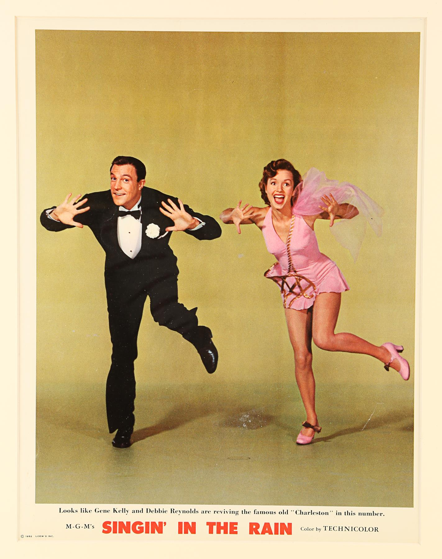 SINGIN' IN THE RAIN (1952) - Deluxe Lobby Card, 1952 - Image 2 of 2