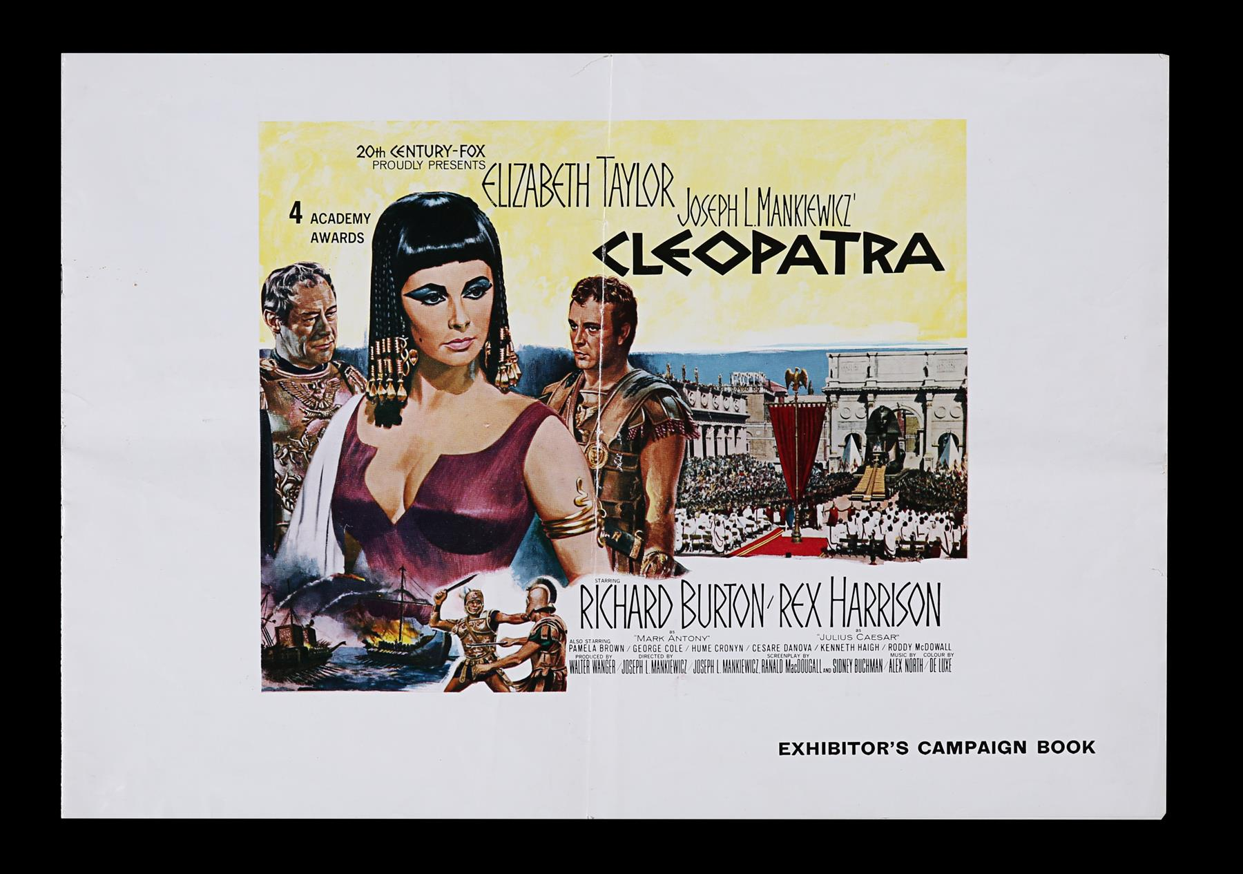 CLEOPATRA (1963) - UK Quad and Exhibitors Campaign Book, 1963 - Image 7 of 7