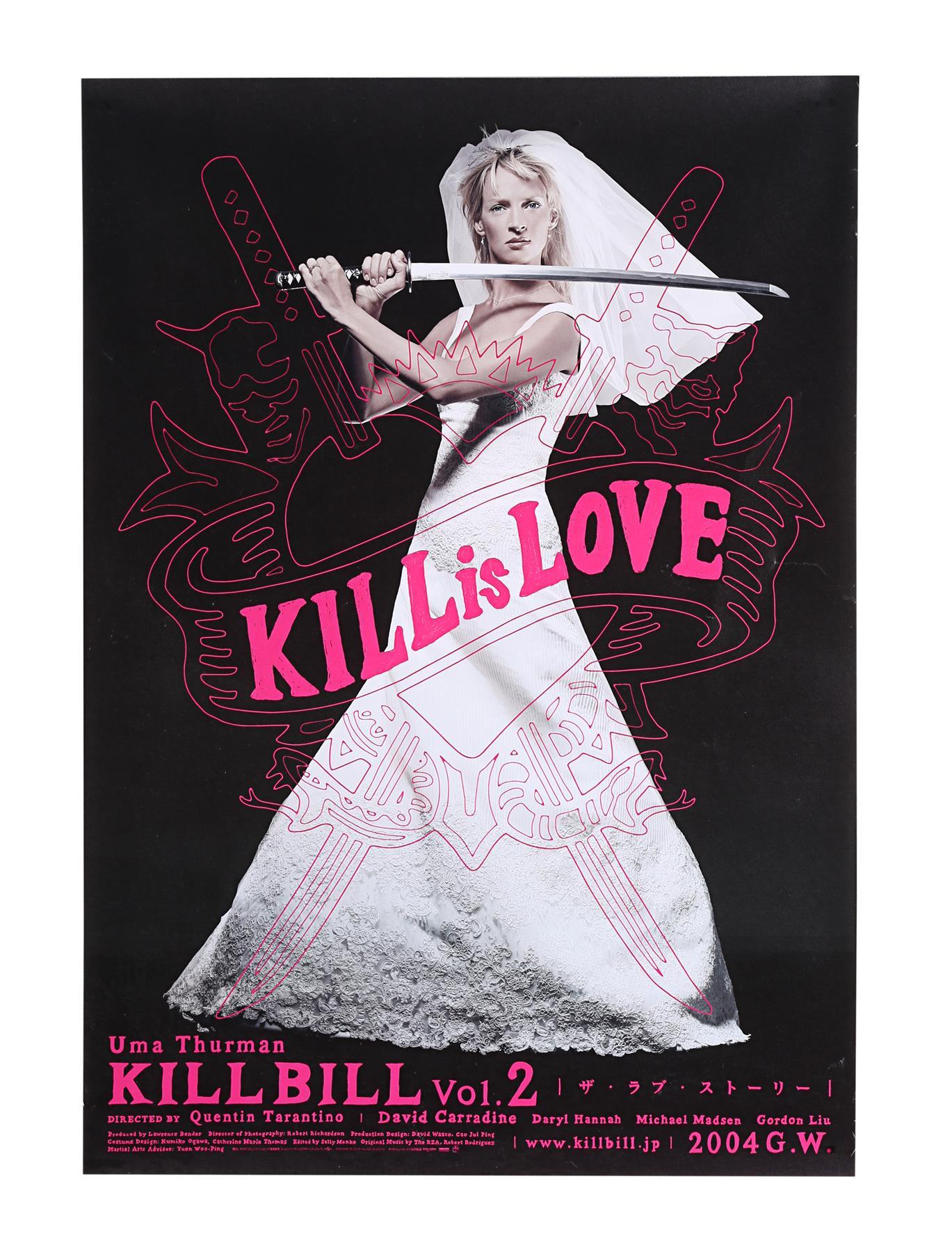 KILL BILL: VOLUME II (2004) - Japanese B2, 2004