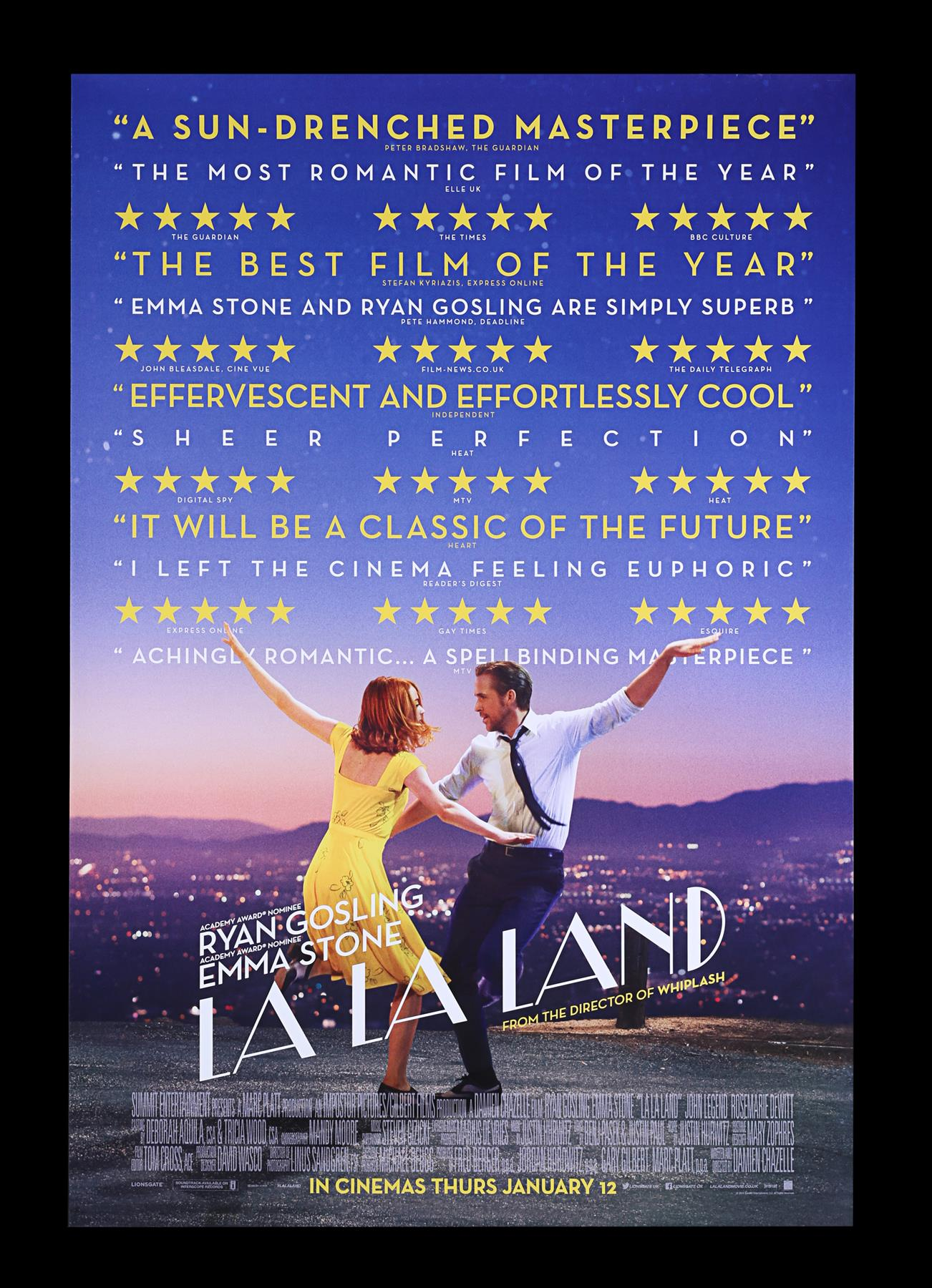 LA LA LAND (2016) - Two UK Quads and One-Sheet, 2016 - Image 6 of 7