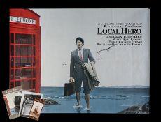LOCAL HERO (1983) - UK Quad, 1983
