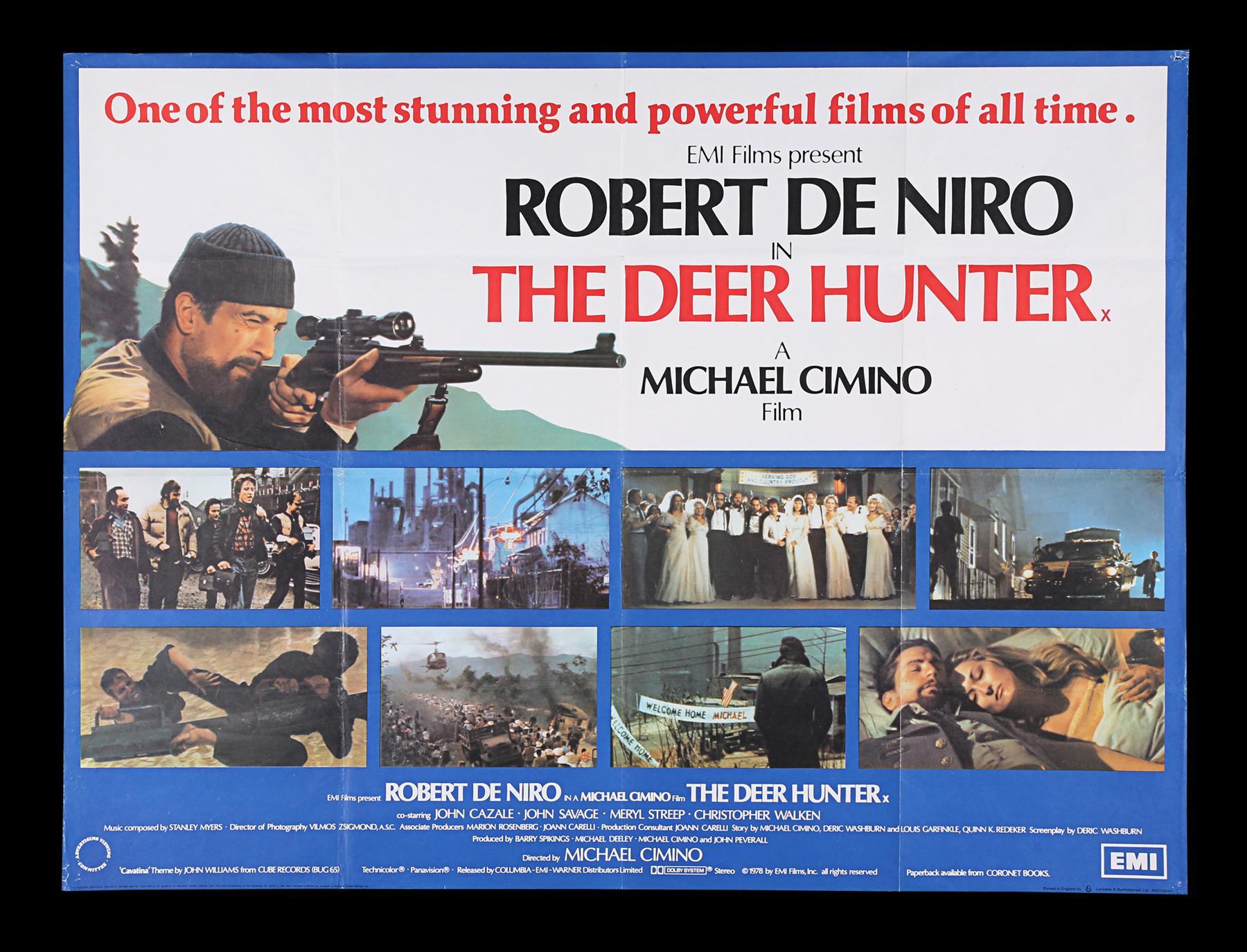 DEER HUNTER (1978), PLATOON (1986), RAGING BULL (1980) - Two UK Quads, US One-Sheet, 1978, 1980, 198 - Image 4 of 7