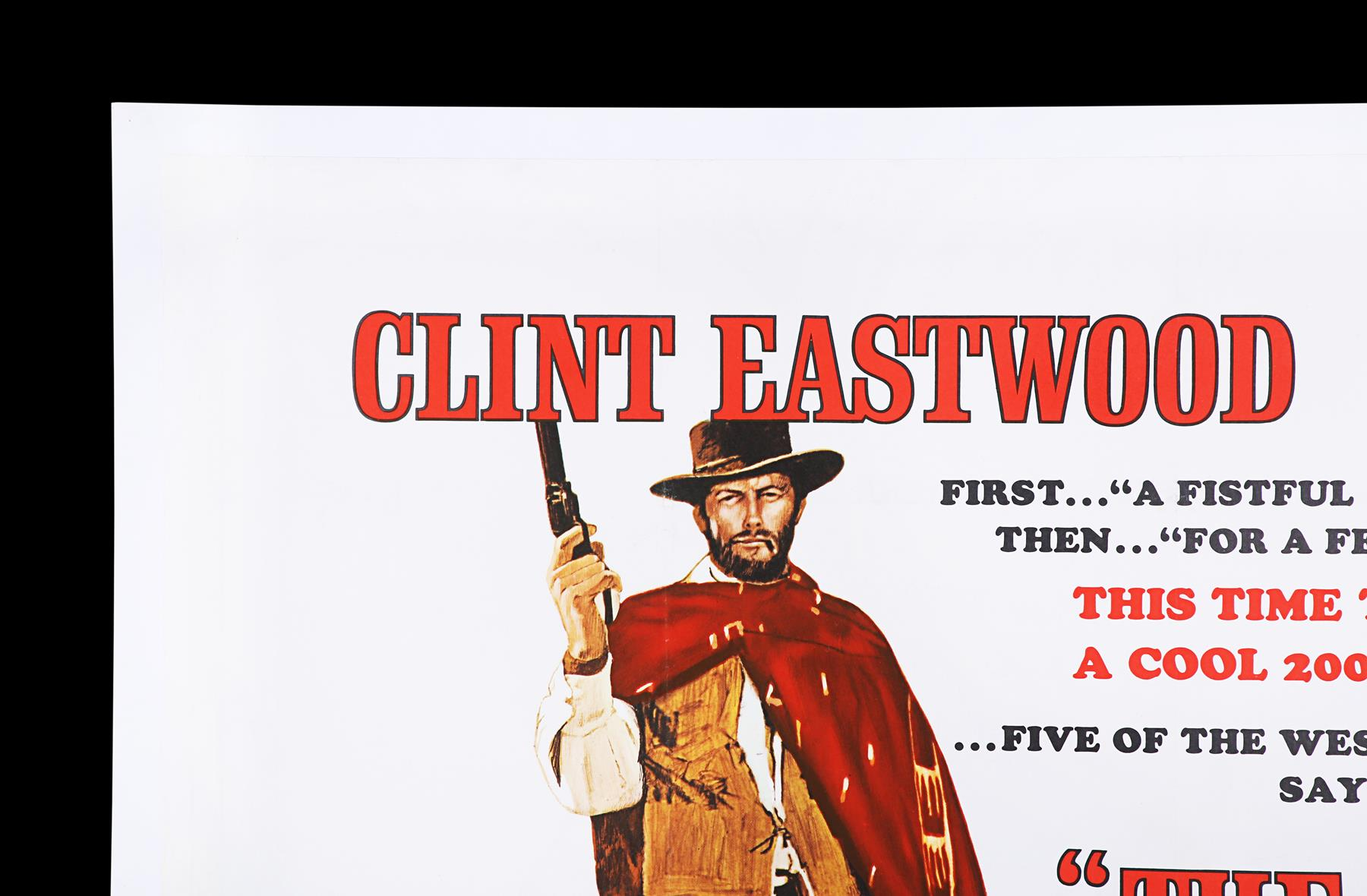 THE GOOD, THE BAD AND THE UGLY (1966) - UK Quad, 1968 - Image 2 of 7