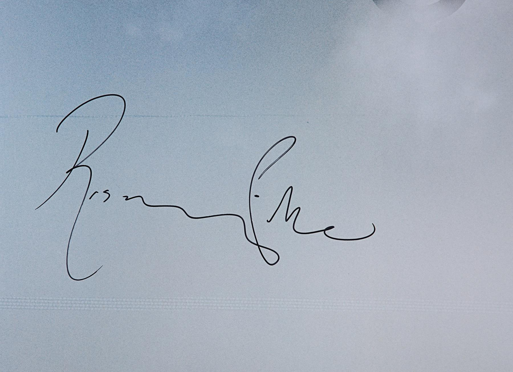 GONE GIRL (2014) - Poster Autographed by David Fincher and Rosamund Pike - Image 5 of 7