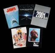 2001: A SPACE ODYSSEY (1968), JAWS (1975), CLOSE ENCOUNTERS OF THE THIRD KIND (1977), THE GODFATHER
