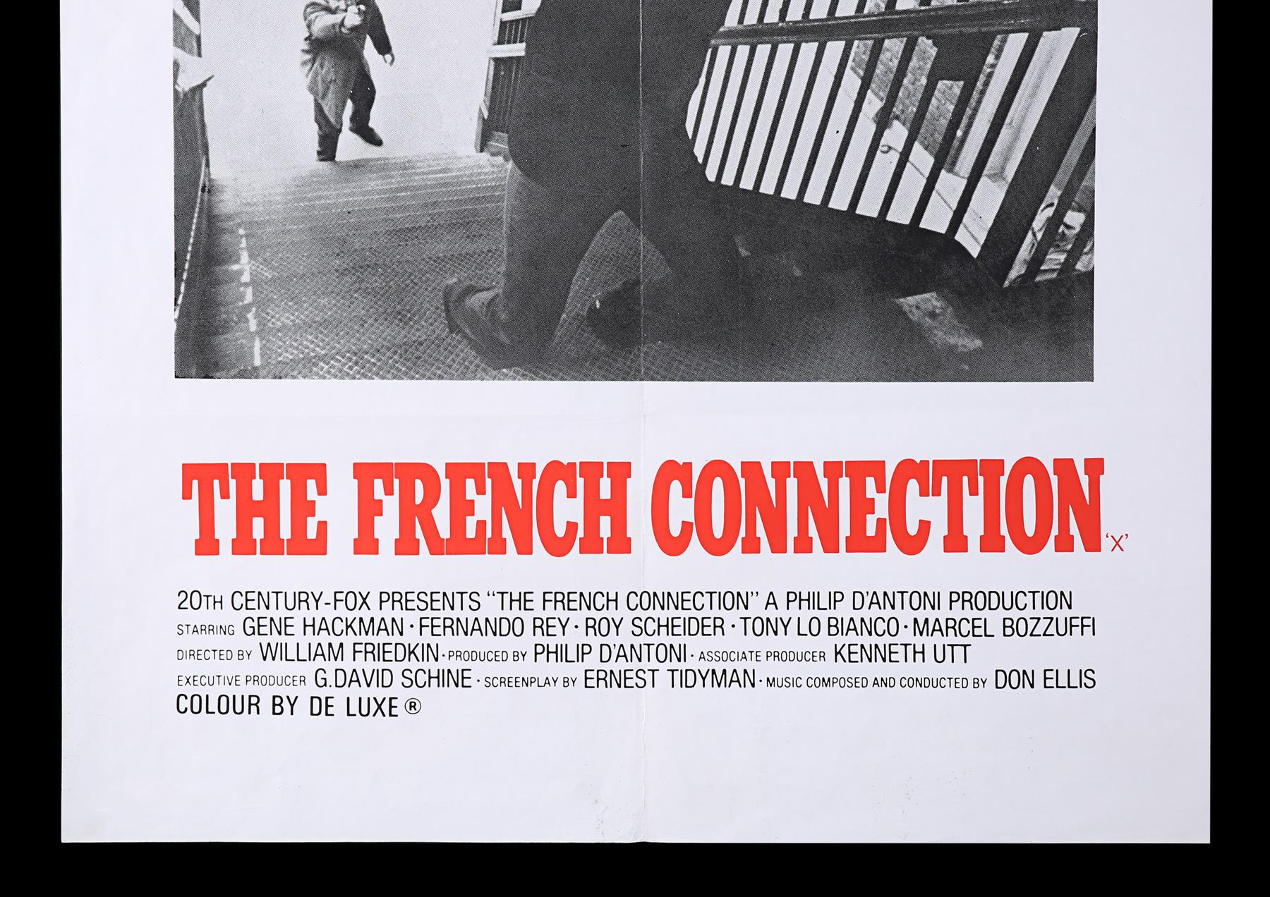 FRENCH CONNECTION (1971), CONVERSATION (1974) - UK Double Crown and US One-Sheet, 1971, 1974 - Image 8 of 8