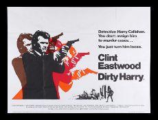 DIRTY HARRY (1971) - UK Quad, 1971