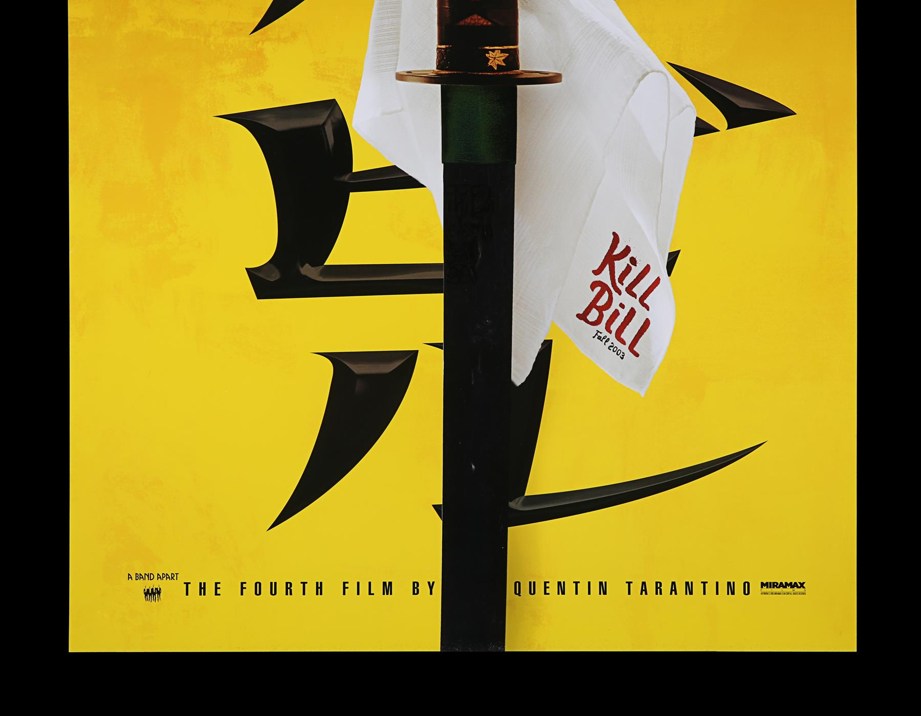 KILL BILL (2003) - US One-Sheet and Thai One-Sheet, 2003 - Image 9 of 10