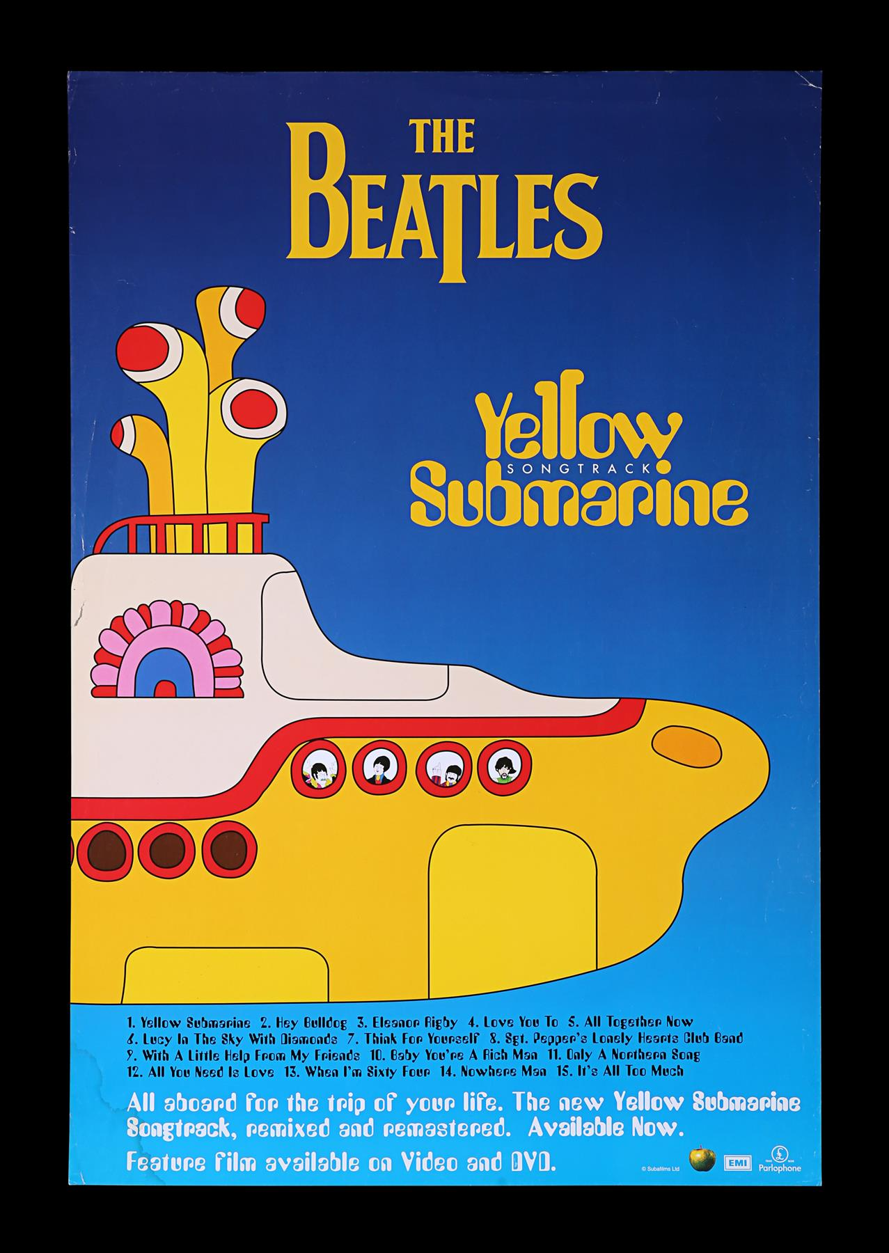 YELLOW SUBMARINE (1968) - Promotional and Marketing Items, 1999 - Image 2 of 9