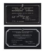 CASABLANCA (1942) - BBFC Irish Certificates, 1942