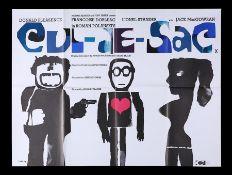 CUL-DE-SAC (1966) - UK Quad, 1966