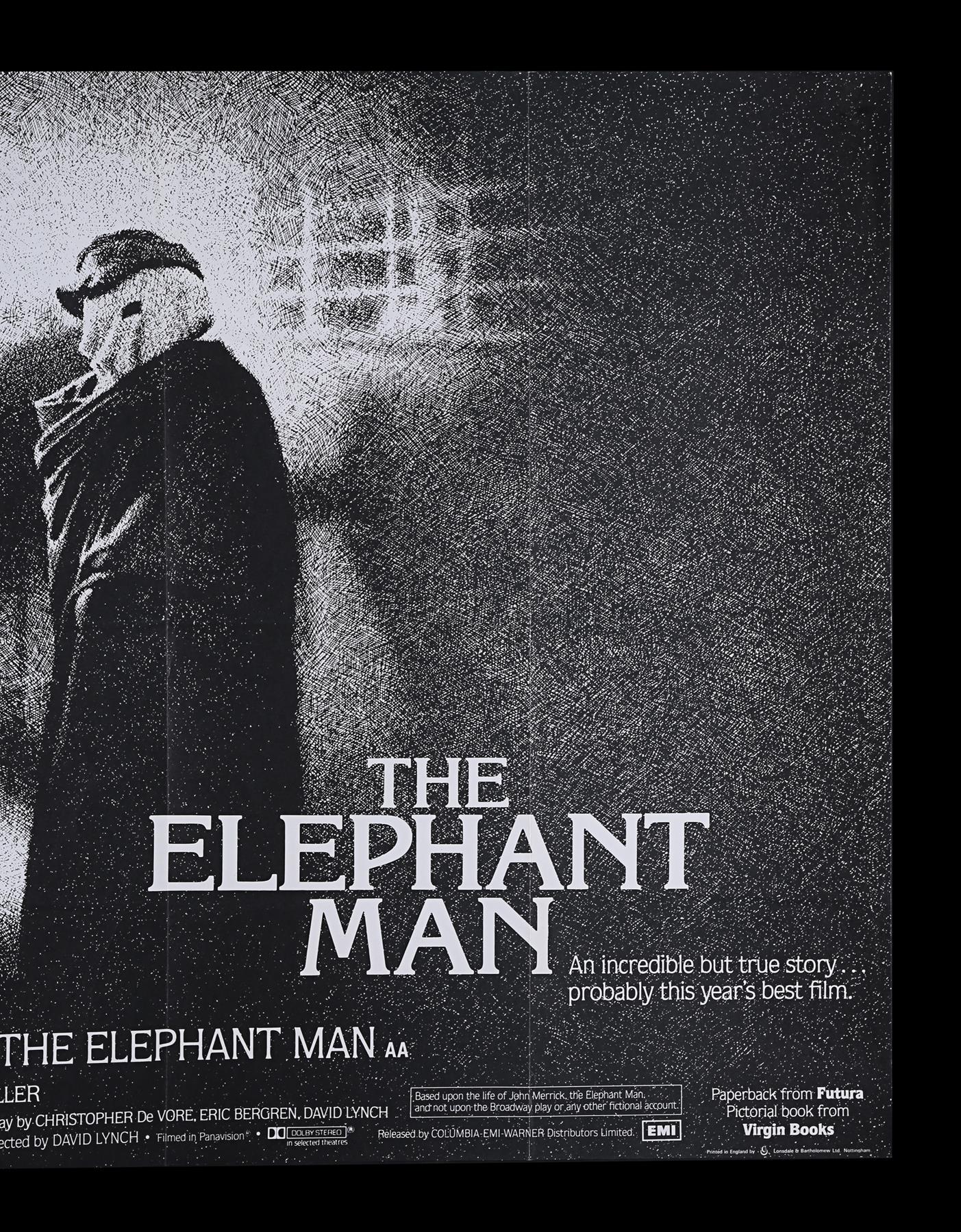 ELEPHANT MAN (1980) - UK Quad, 1980 - Image 3 of 5