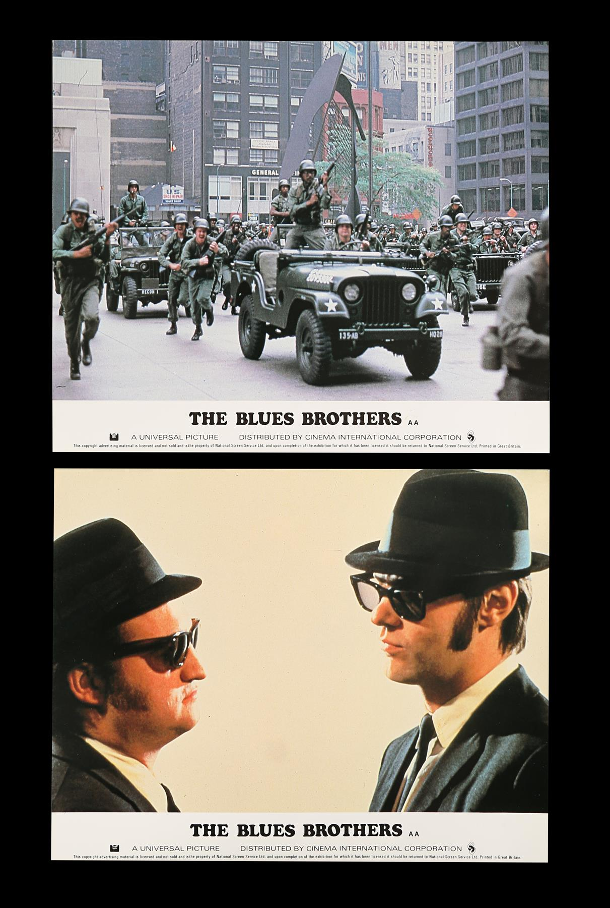 THE BLUES BROTHERS (1980) - Eight British Front of House Lobby Cards, 1980 - Image 2 of 5