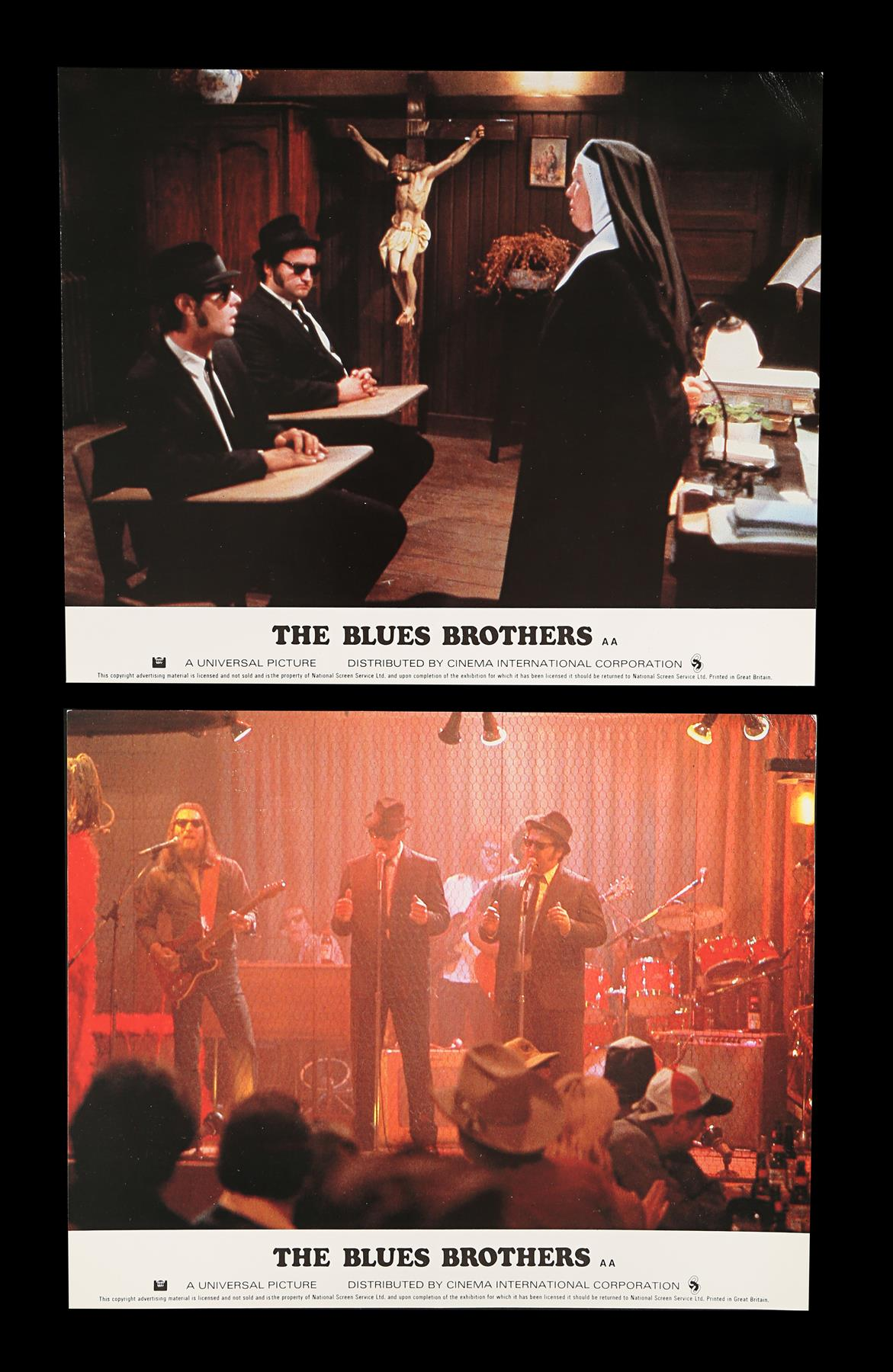 THE BLUES BROTHERS (1980) - Eight British Front of House Lobby Cards, 1980 - Image 4 of 5