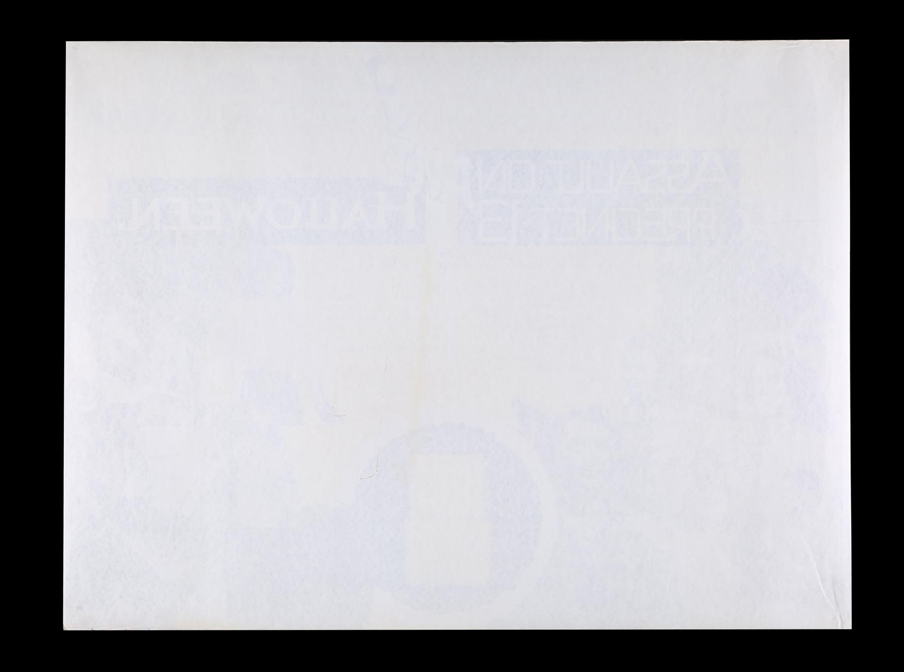 ASSAULT ON PRECINCT 13 (1976), HALLOWEEN (1979) - Two UK Quads, 1979 - Image 3 of 5