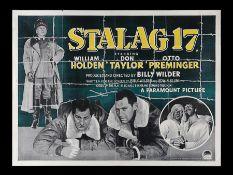 STALAG 17 (1953) - UK Quad, 1953