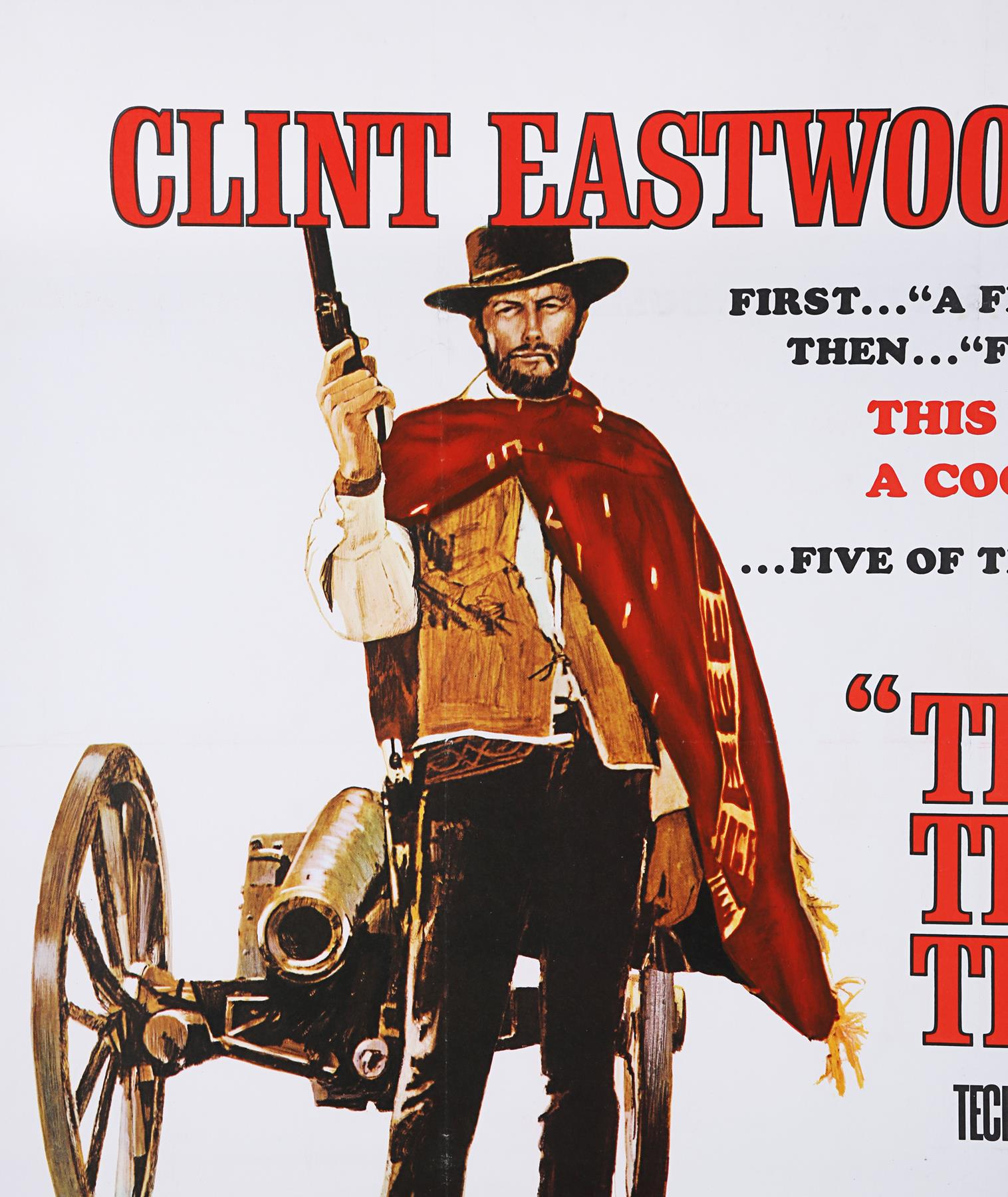 THE GOOD, THE BAD AND THE UGLY (1966) - UK Quad, 1968 - Image 7 of 7