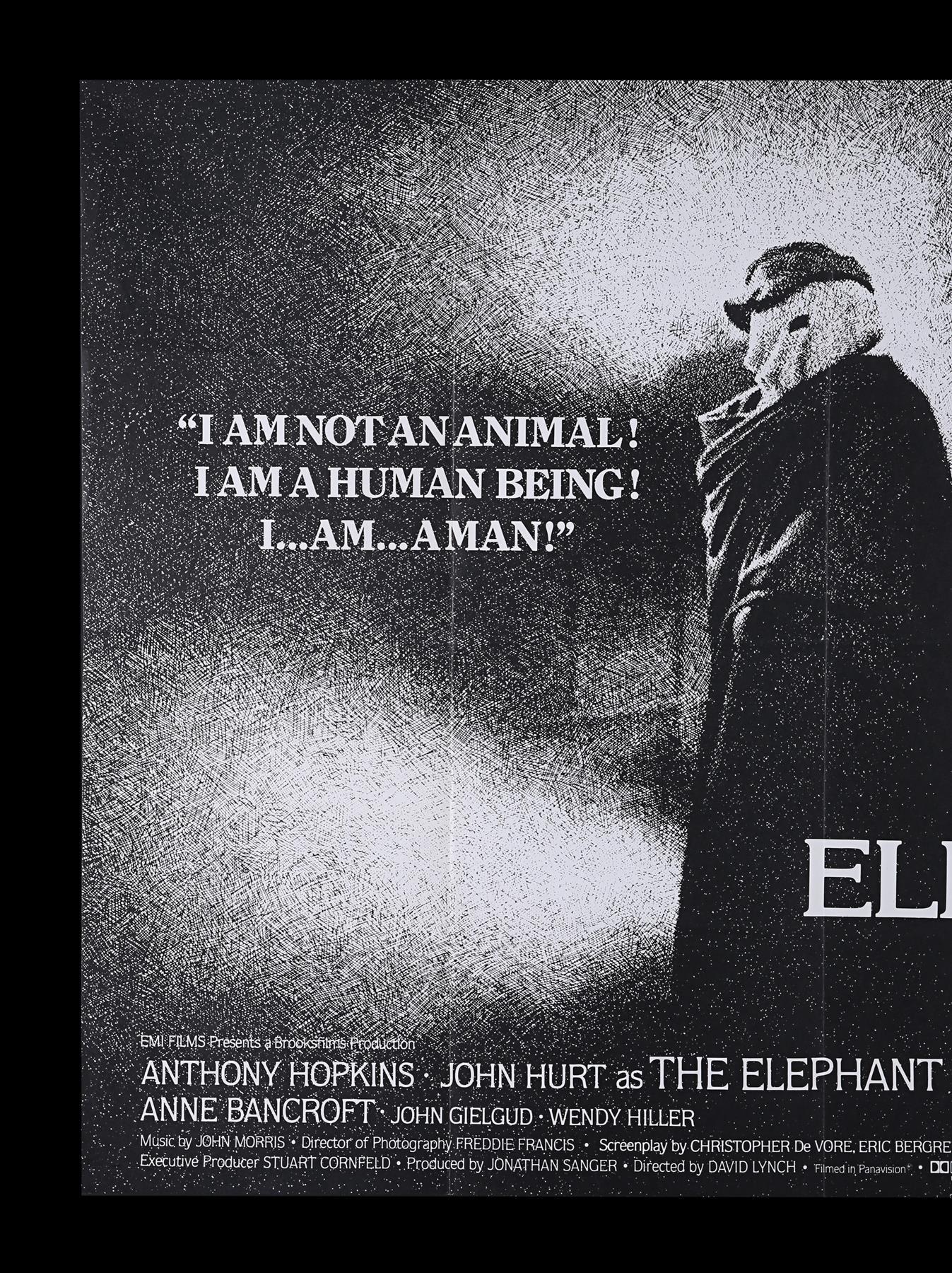 ELEPHANT MAN (1980) - UK Quad, 1980 - Image 2 of 5