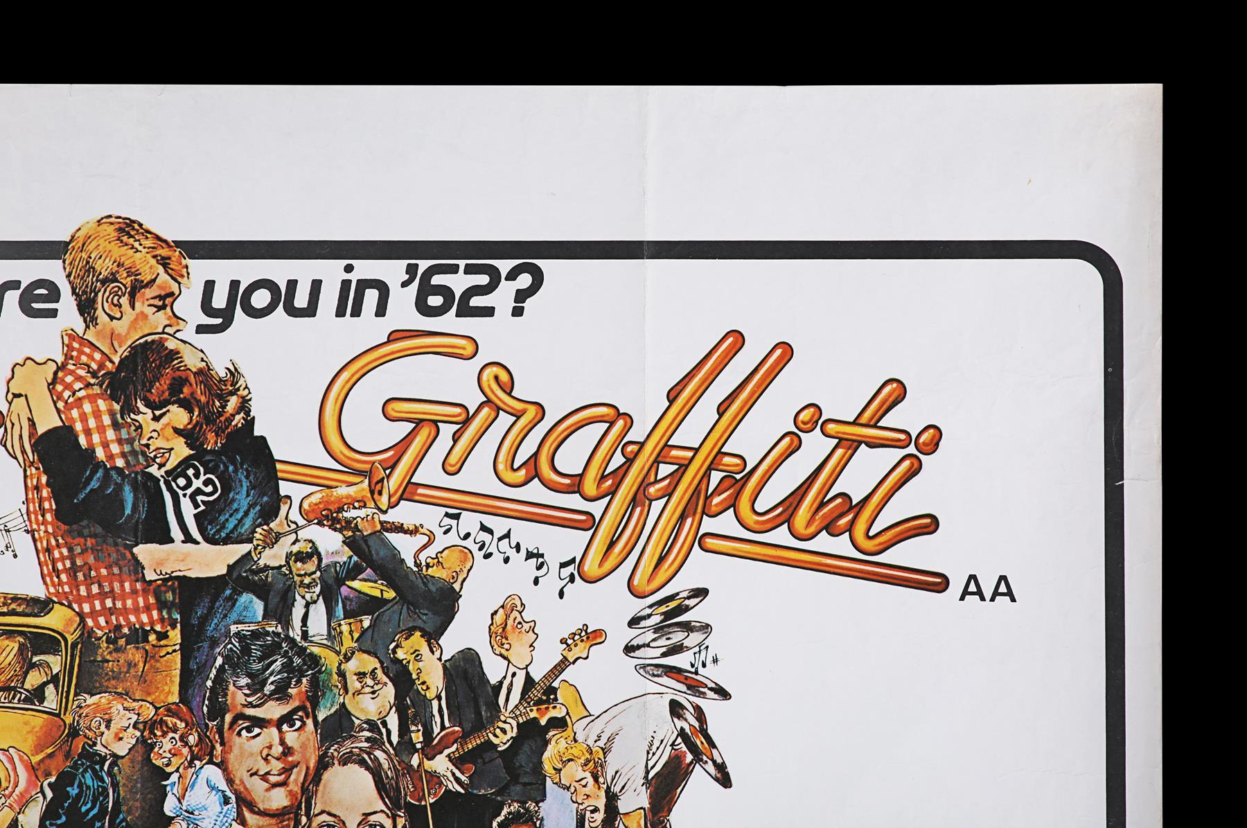 AMERICAN GRAFFITI (1973) - UK Quad, 1973 - Image 3 of 6
