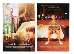 LOST IN TRANSLATION (2003) - Two US One-Sheets (Style A and B), 2003