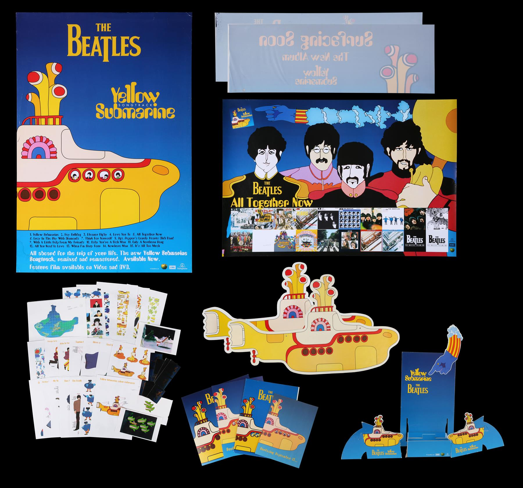 YELLOW SUBMARINE (1968) - Promotional and Marketing Items, 1999