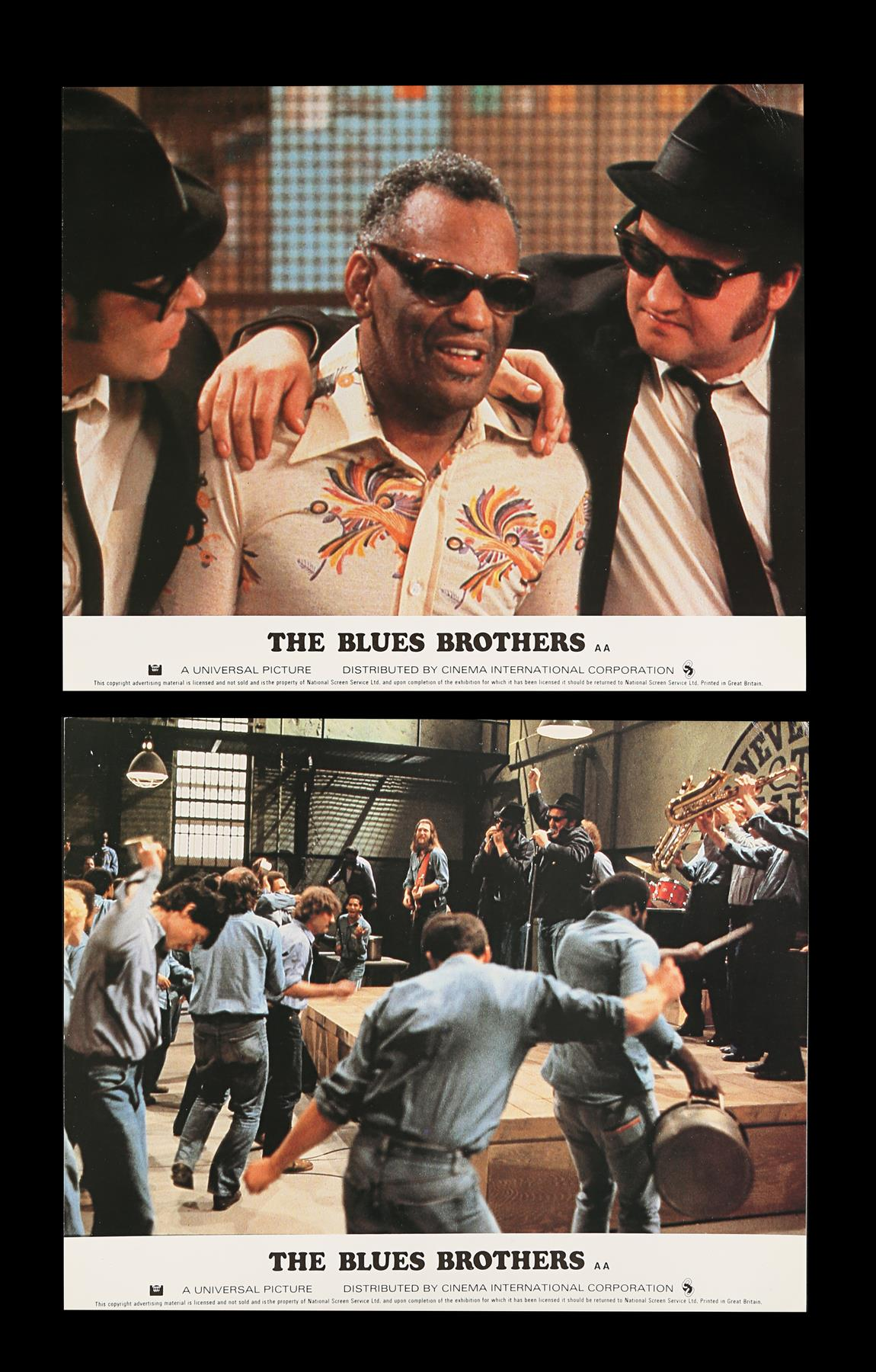 THE BLUES BROTHERS (1980) - Eight British Front of House Lobby Cards, 1980 - Image 5 of 5