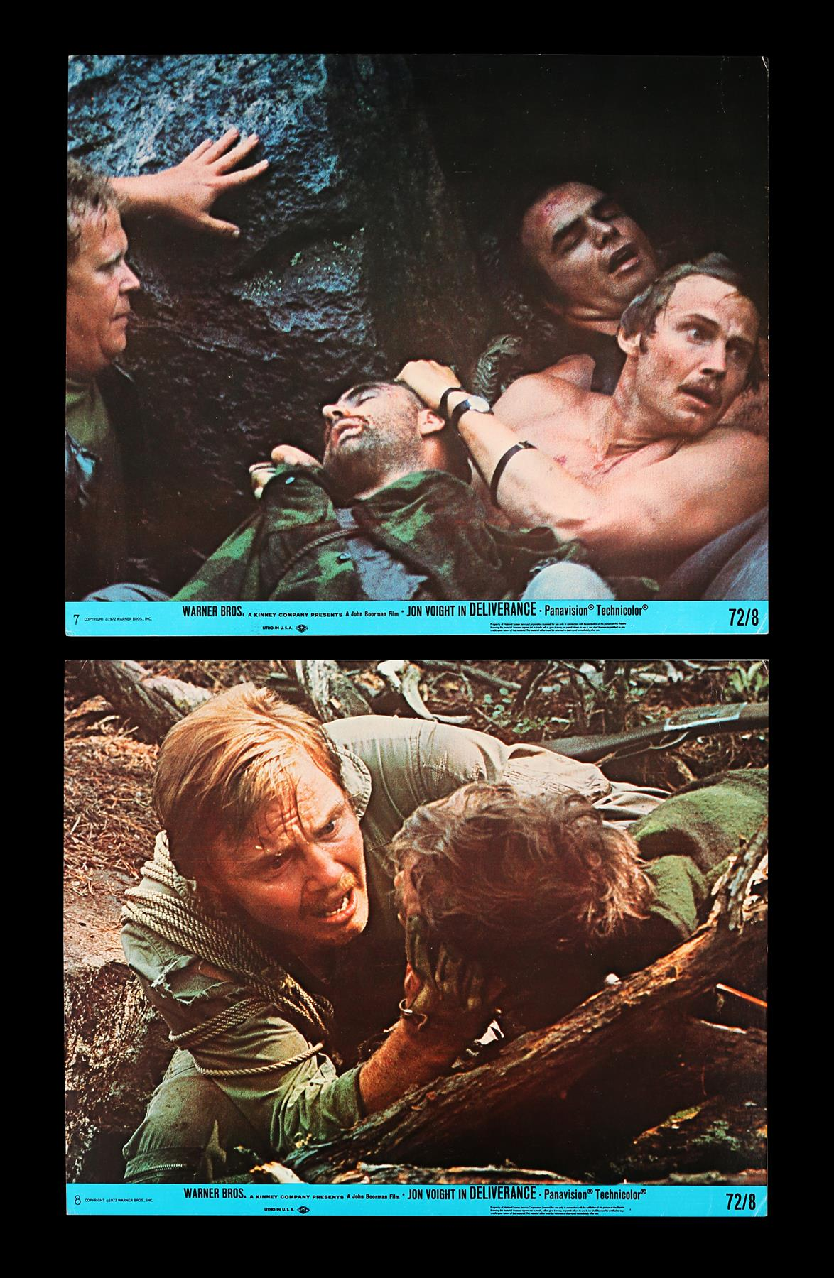DELIVERANCE (1972), THE ENFORCER (1977) - Two Sets of US Front of House Lobby Cards, 1972, 1977 - Image 2 of 9