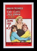 SOME LIKE IT HOT (1959) - US One-Sheet, 1960