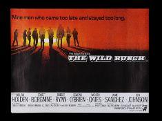THE WILD BUNCH (1969) - UK Quad (Roadshow Style), 1969