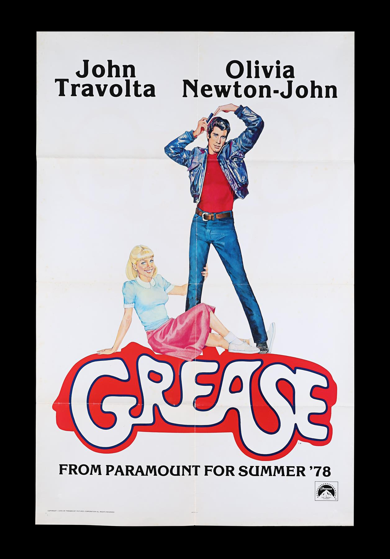 GREASE (1978) - US One-Sheet, 1978