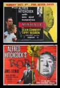 ROPE (1948), MARNIE (1964) - Two UK Quads, 1958, 1964