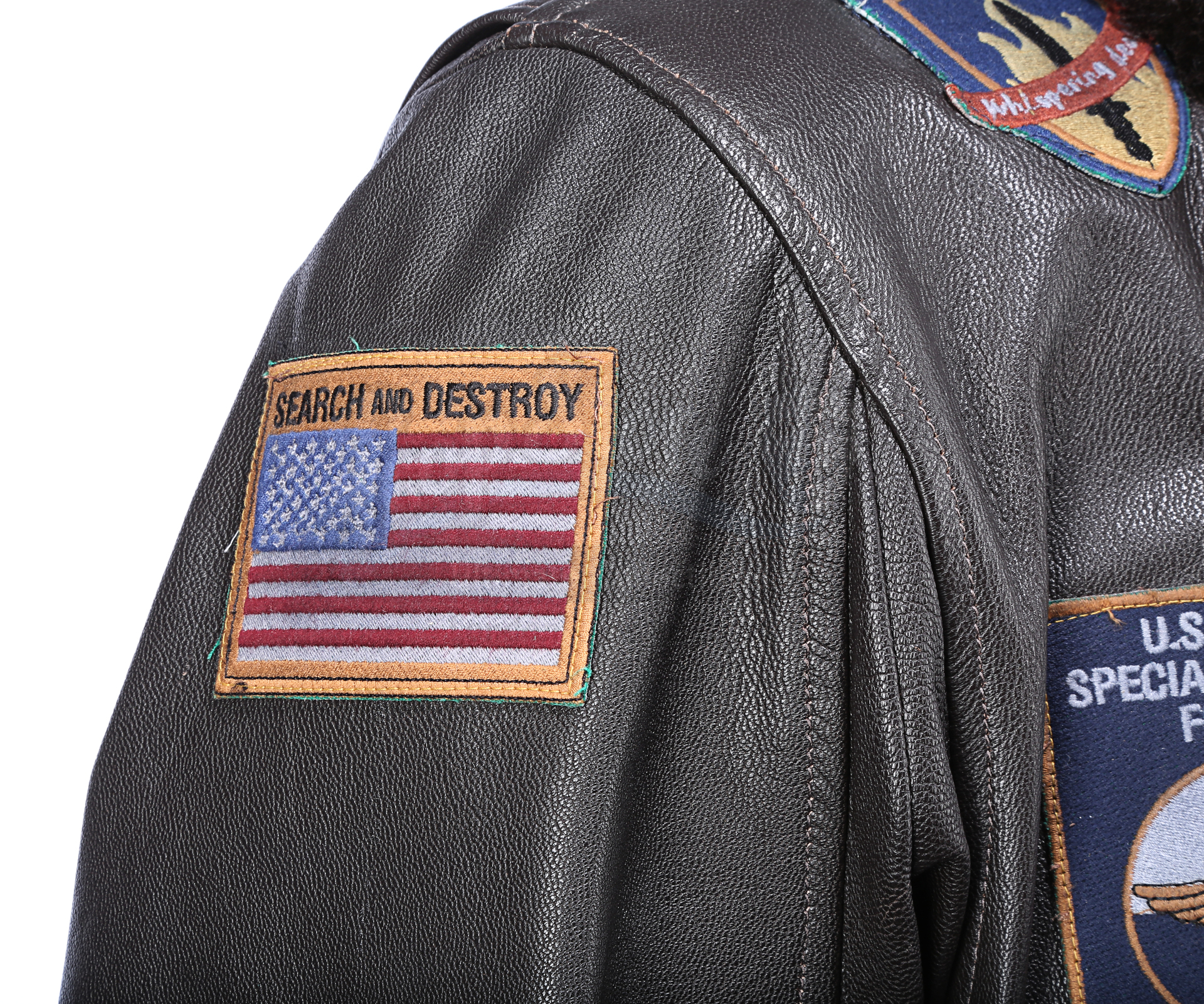 THE 6TH DAY (2000) - Adam Gibson's (Arnold Schwarzenegger) Leather Jacket - Image 6 of 15