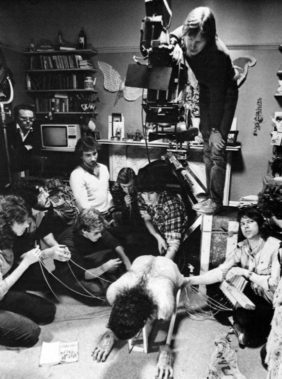 "AN AMERICAN WEREWOLF IN LONDON (1981) - Rick Baker SFX ""Change-O"" Mechanical Werewolf Transformation - Image 27 of 27"