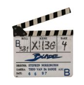 BLADE (1998) - Production-Used Clapperboard