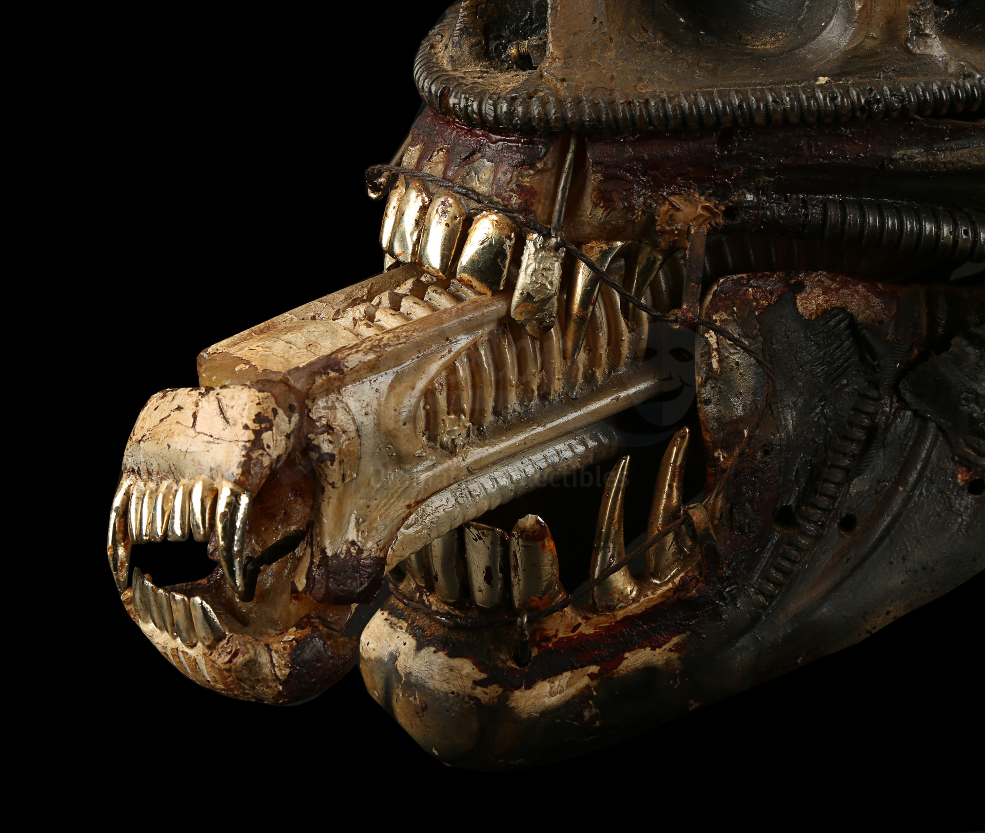ALIEN (1979) - H.R. Giger-designed Special Effects Mechanical Alien Head - Image 5 of 34