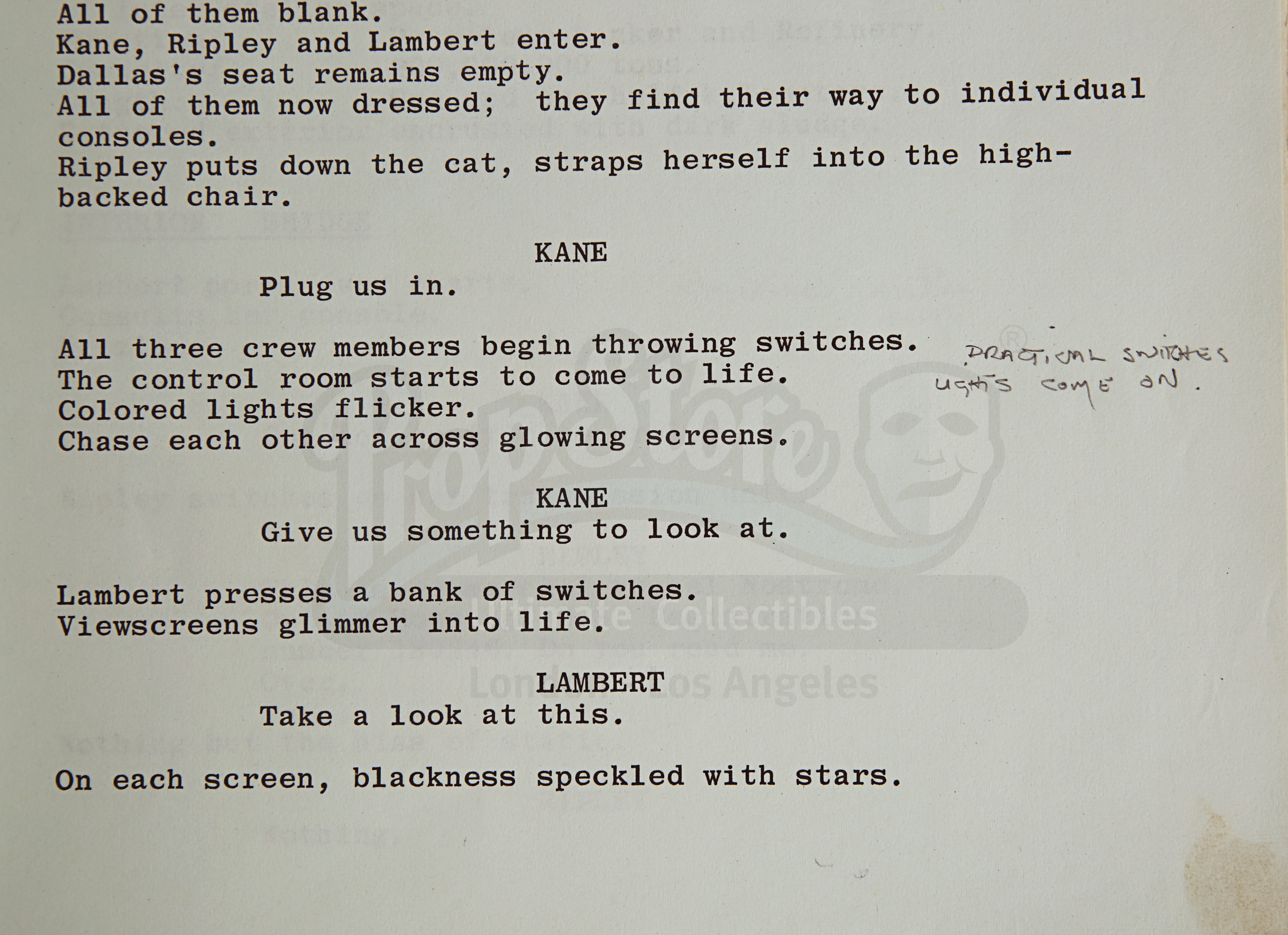 ALIEN (1979) - Roger Christian Annotated Script - Image 15 of 22